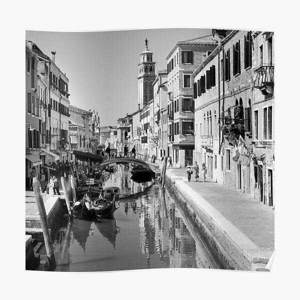 Rio di San Barnaba Venice Poster