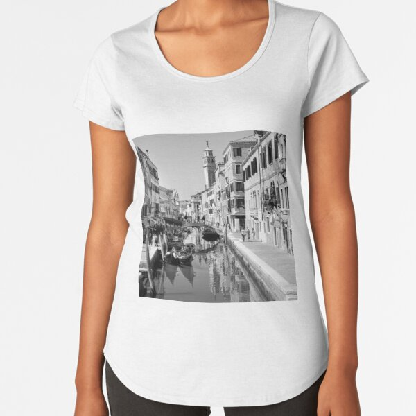 Rio di San Barnaba Venice Premium Scoop T-Shirt