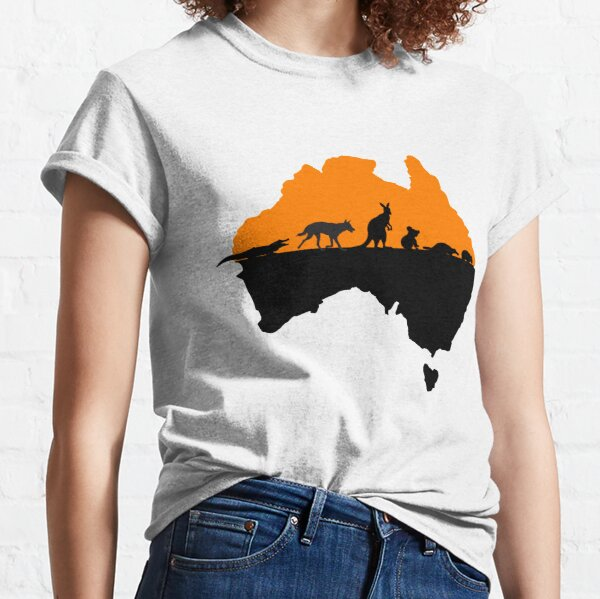 Australia Camiseta clásica