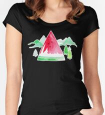 The Sweet Outdoors - By Merrin Dorothy Women's Fitted Scoop T-Shirt