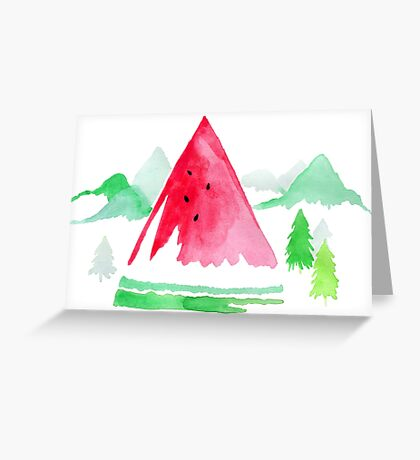The Sweet Outdoors  Greeting Card