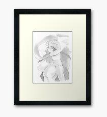Feline. Framed Print