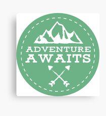 Adventure Awaits Canvas Print