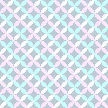 Geometric modern pattern by ullithehat