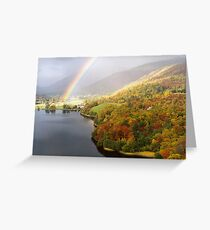 Grasmere Rainbow Greeting Card