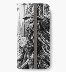 Eileen die Krähe - Bloodborne iPhone Flip-Case/Hülle/Klebefolie
