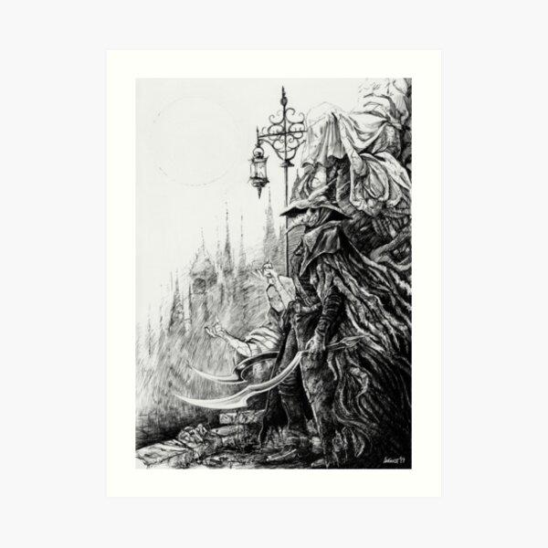 Eileen the Crow - Bloodborne Art Print