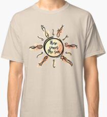 Here Comes the Sun Watercolor Classic T-Shirt