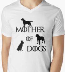 MOTHER OF DOGS Men's V-Neck T-Shirt