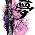 Geisha - Japon by Aonaka