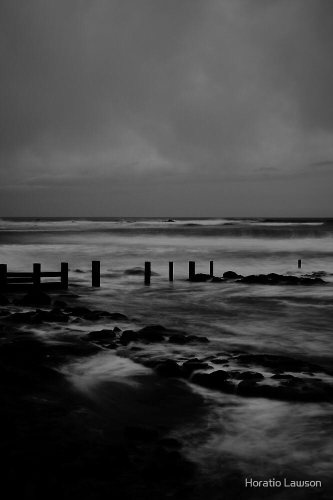 Stormy Sea at Dunbar II by Horatio Lawson