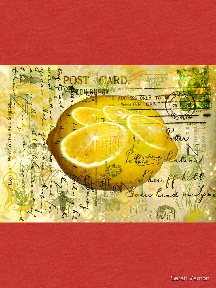 Postcard Lemons by tillymagoo