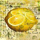 Postcard Lemons by Sarah Vernon