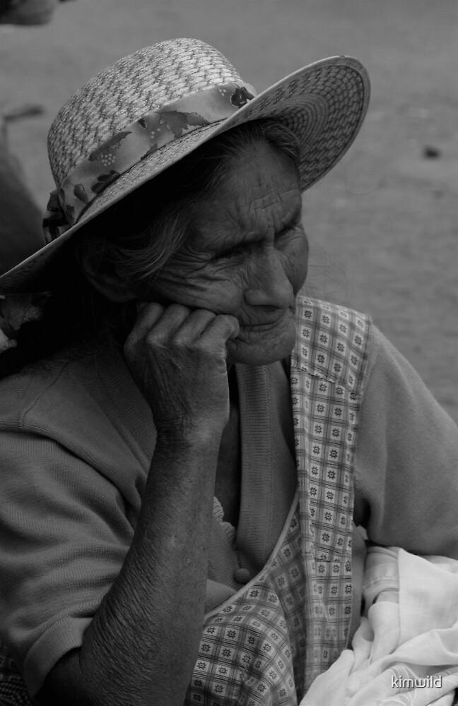 Bolivian Elder by kimwild