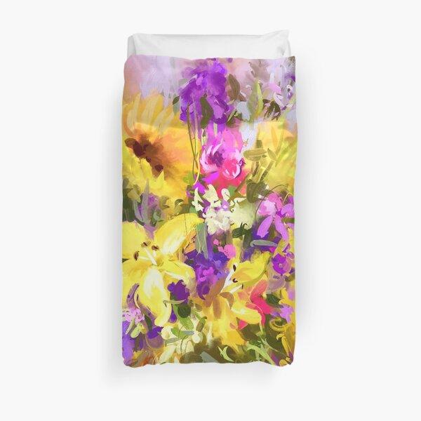 Yellow bouquet Duvet Cover