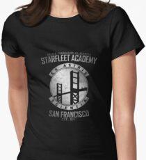 Starfleet Academy 1 Womens Fitted T-Shirt