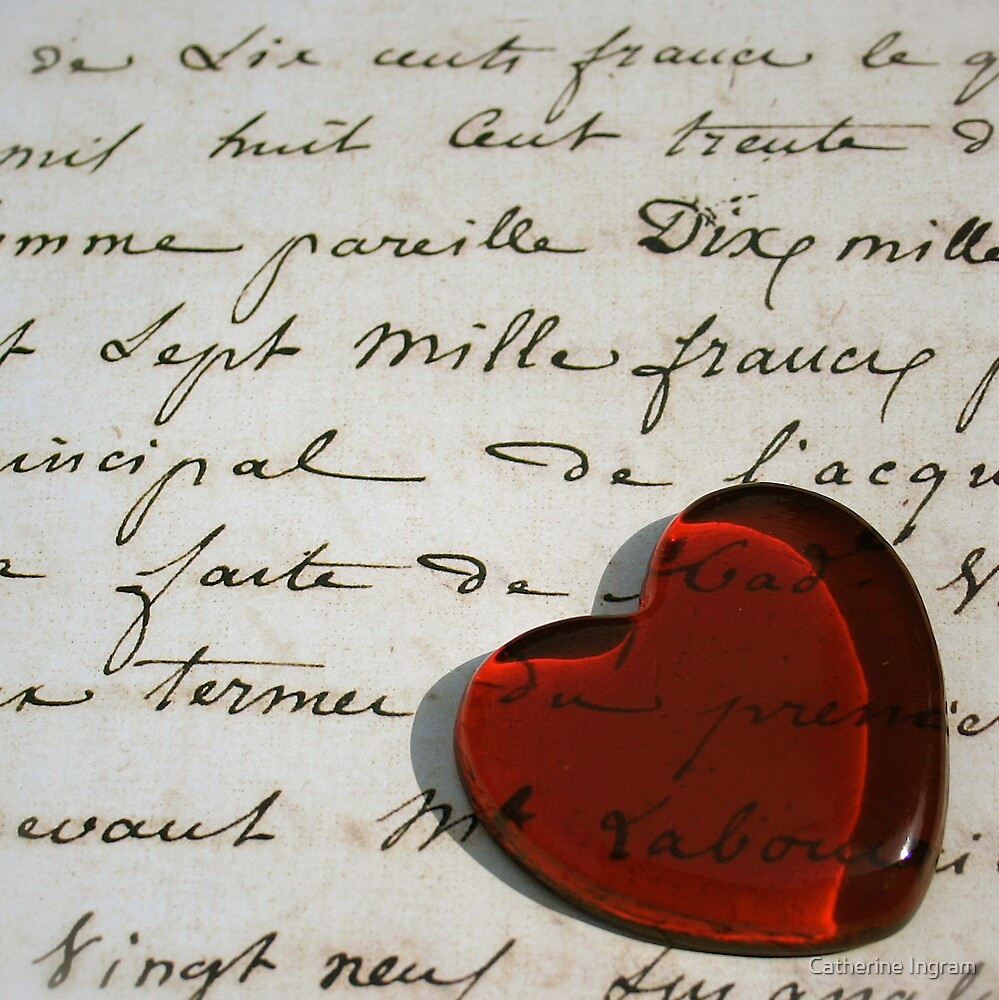 Love letters straight to my heart by Catherine Ingram