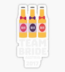 Team Bride Austria 2017 Rme4i Sticker