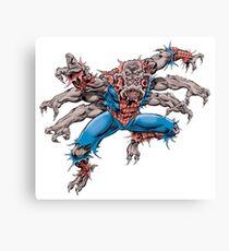 Man-Spider Canvas Print