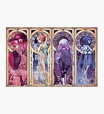 Art Nouveau Gems Photographic Print