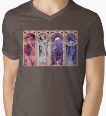 Art Nouveau Gems Men's V-Neck T-Shirt