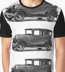 In the end of Night ... arises the Model A Ford ... a legendary car, ideal for illustrated stickers, phone shell etc...  2015  (c)(t) 01 by Olao-Olavia / Okaio Créations Graphic T-Shirt