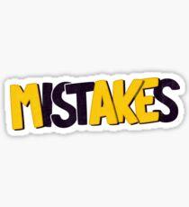 Make mistakes Sticker