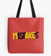 Make mistakes Tote Bag