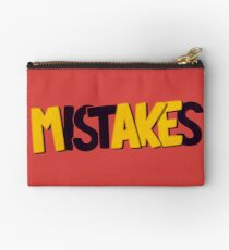 Make mistakes Zipper Pouch