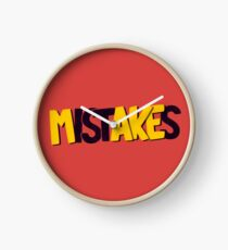 Make mistakes Clock