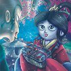 Contes et Mythes Japonais - Urashima Tarou illu11 by Aonaka