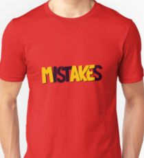 Make mistakes Slim Fit T-Shirt