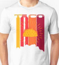 Retro Vintage 70s 80s taco Unisex T-Shirt