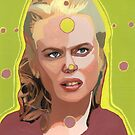 My spheres of perception float in your ephemeral realms. (Nicole Kidman)  by Ken  Wentworth