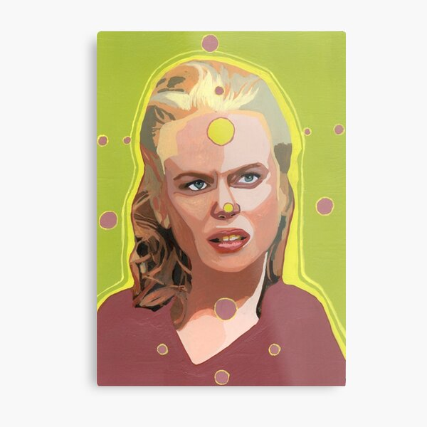 My spheres of perception float in your ephemeral realms. (Nicole Kidman)  Metal Print