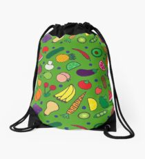 Fruits and Veggies! Drawstring Bag
