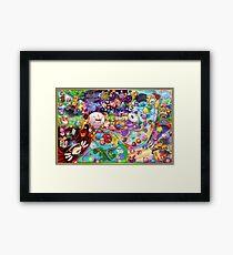 Kirby's 20th Anniversary Framed Print