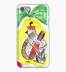 Quail in a Quince iPhone Case/Skin