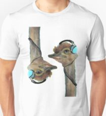 Gemini Pam The Double Jam Ostritch Cut Away Unisex T-Shirt