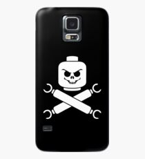 Plastic Pirate Case/Skin for Samsung Galaxy