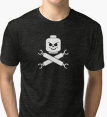 Plastic Pirate Tri-blend T-Shirt