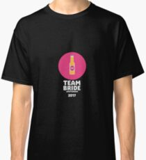 Team bride Amsterdam 2017 Henparty Rt2v9 Classic T-Shirt