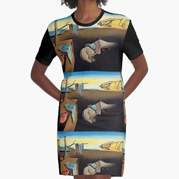 DALI, Salvador Dali, The Persistence of Memory, 1931. Graphic T-Shirt Dress