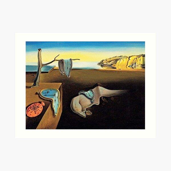 DALI, Salvador Dali, The Persistence of Memory, 1931. Art Print
