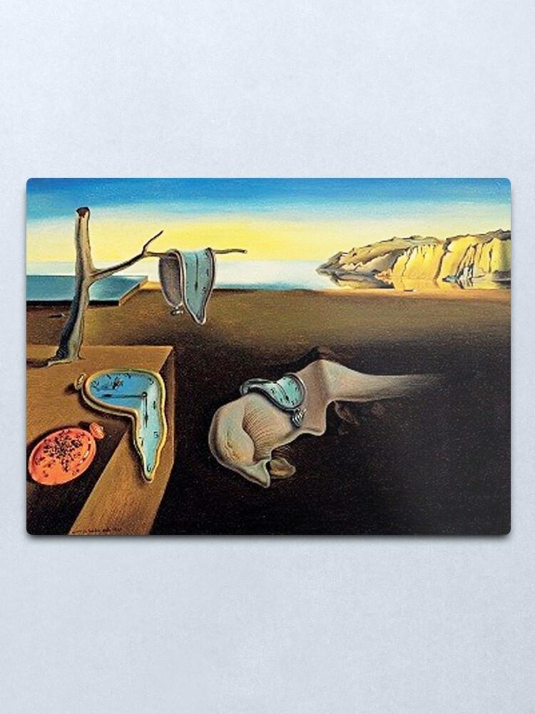 Alternate view of DALI, Salvador Dali, The Persistence of Memory, 1931. Metal Print