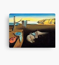 DALI, Salvador Dali, The Persistence of Memory, 1931 Canvas Print