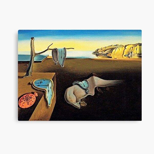 DALI, Salvador Dali, The Persistence of Memory, 1931. Canvas Print