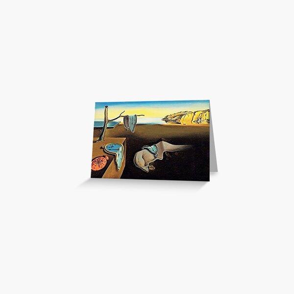 DALI, Salvador Dali, The Persistence of Memory, 1931. Greeting Card