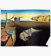 DALI, Salvador Dali, The Persistence of Memory, 1931. Poster