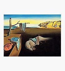 DALI, Salvador Dali, The Persistence of Memory, 1931 Photographic Print